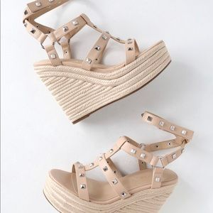 Kendall and Kylie new Studded espadrille sandal